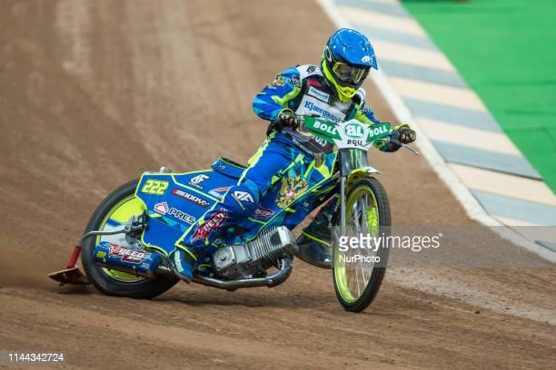 Artiom Laguta during FIM Speedway Grand Prix Of Poland Training in Warsaw Poland on 17 May 2019