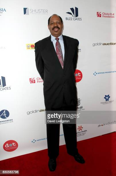 Artis Gilmore at the 17th Annual Harold Carole Pump Foundation Gala at The Beverly Hilton Hotel on August 11 2017 in Beverly Hills California