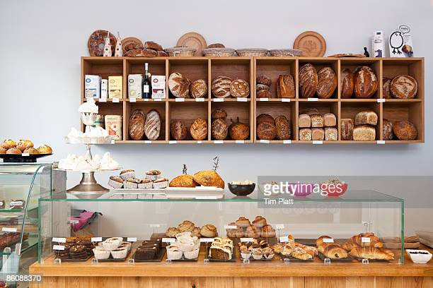 Artisan baker's shop