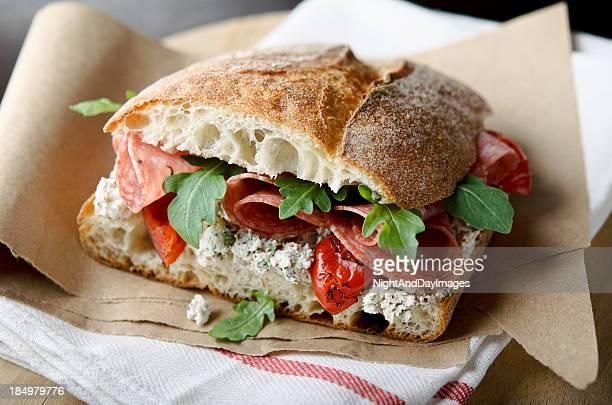 Artisan Salami Sandwich