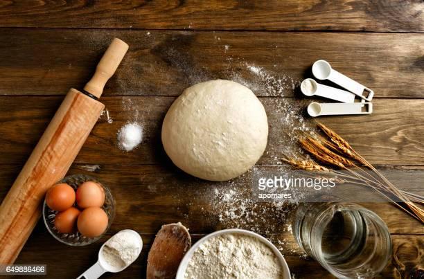 食材や調理器具を作る職人のパン屋さん: 生地