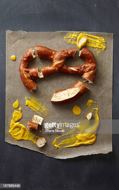 Artisanal Pretzel with Homemade Mustard