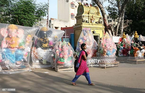 Artisans at Kosapettai in Chennai are busy with making eco friendly idols ahead of Vinayaka Chathurthy and Sri Krishna Jayanthi