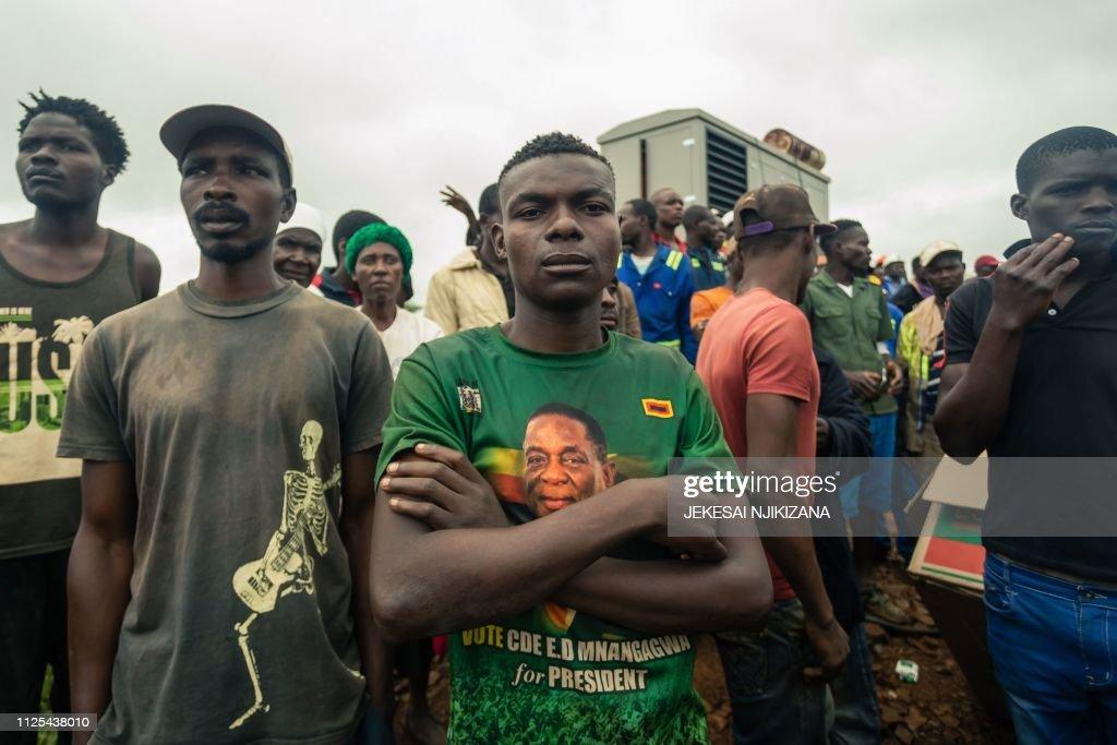 ZIMBABWE-MINING-ACCIDENT : Nachrichtenfoto