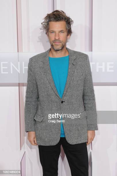 Artist Aaron Young attends the Hugo Boss Prize 2018 Artists Dinner at the Guggenheim Museum on October 18 2018 in New York City