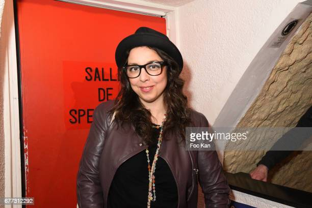 """Artist ABK ALexandra Boucherifi attends """"Attachiante"""" Chanez Concert and Birthday Party at Sentier des Halles Club on May 2, 2017 in Paris, France."""