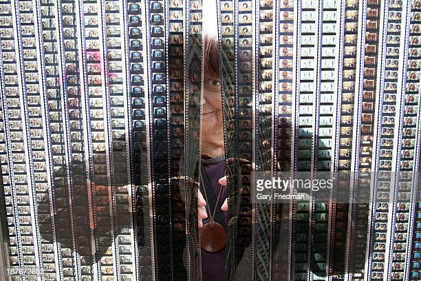 Artist Agnes Varda is photographed for Los Angeles Times on October 31 2013 in Los Angeles California PUBLISHED IMAGE CREDIT MUST READ Gary...