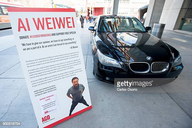 TORONTO ON NOVEMBER 28 Artist Ai Weiwei is asking the public for donations of Lego because the Danish toymaker wouldn't sell him blocks in bulk for a...