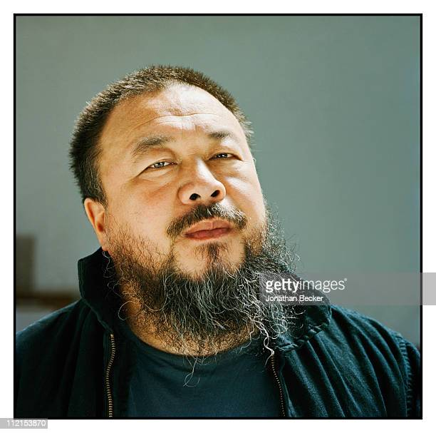 Artist Ai Weiwei is photographed for Vanity Fair Magazine on May 12 2007 in Beijing China