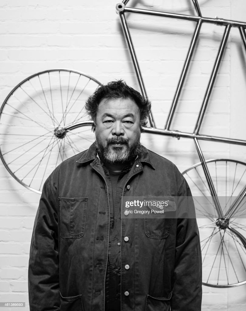 Ai Weiwei, Portrait shoot, November 29, 2013