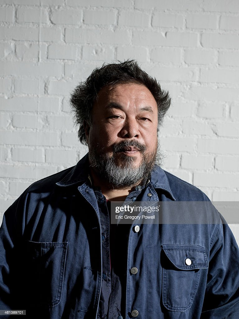 Ai Weiwei, Portrait shoot, November 29, 2013