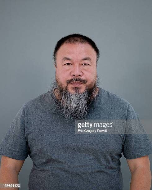 Artist Ai Weiwei is photographed on September 12 2012 in Beijing China