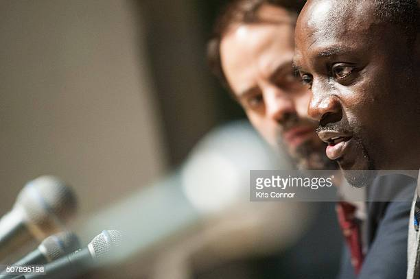 Artist Akon founder of Lighting Africa speaks during an african energy initiative discussion at the US Chamber of Commerce Headquarters in Washington...