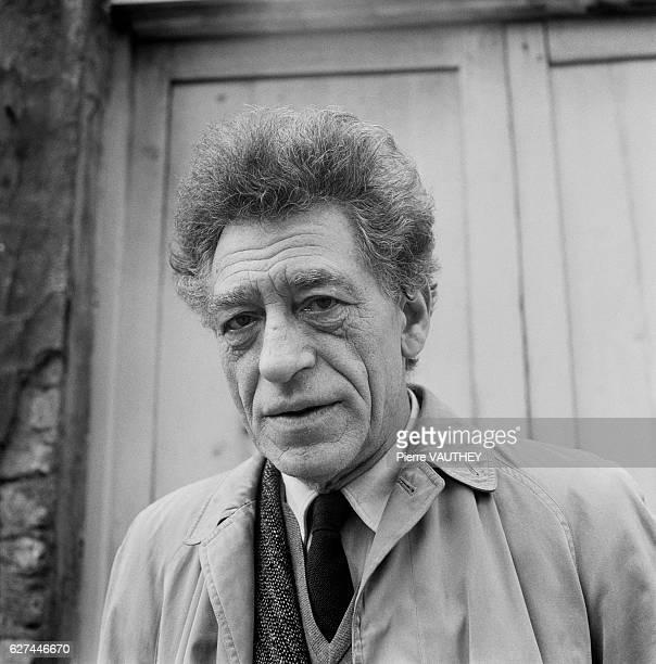 Artist Alberto Giacometti