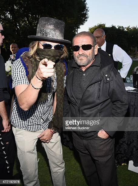 Artist Alec Monopoly and actor Joe Pesci attended the 8th Annual George Lopez Celebrity Golf Classic presented by Sabra Salsa to benefit The George...