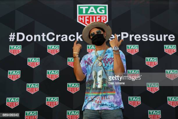 Artist Alec Monopoly at the TAG Heuer Culinary Challenge on May 27 2017 in MonteCarlo Monaco