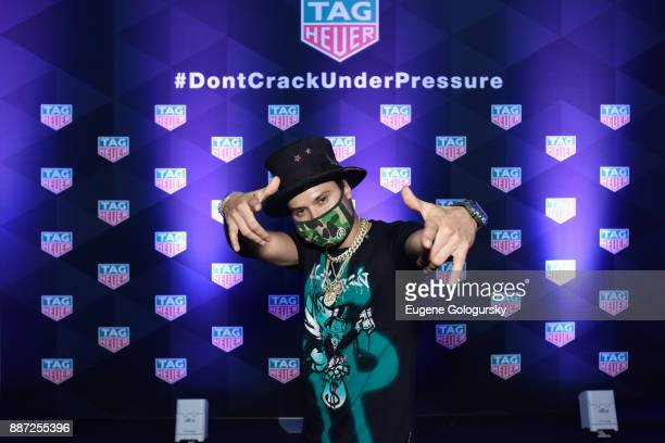 Artist Alec Monopoly attends Art Basel Miami Beach preshow with TAG Heuer Art Provocateur Alec Monopoly at Miami Design District on December 6 2017...