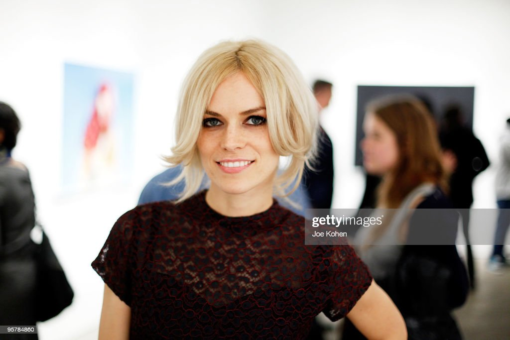 Artist Alex Prager attends Alex Prager's 'Week-End' exhibition opening at the Yancey Richardson Gallery on January 14, 2010 in New York City.