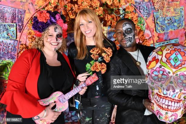 Artist Alexa Meade attends PATRÓN Tequila's Día de Muertos Celebration at City Libre on November 02 2019 in Los Angeles California