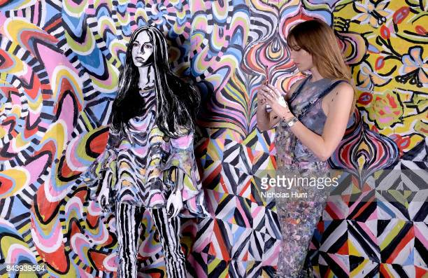Refinery29 Third Annual 29rooms Turn It Into Art Stock Fotos Und