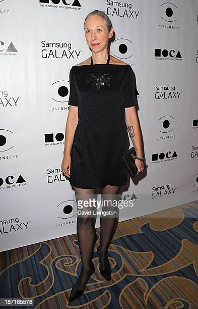 Artist Alexandra Grant attends the 8th Annual MOCA Awards to Distinguished Women in the Arts Luncheon at the Beverly Wilshire Four Seasons Hotel on...