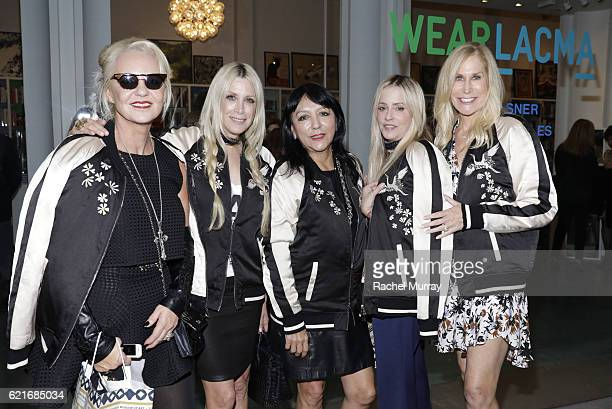 Artist Amanda Eliasch CoFounder of Pam Gela and Juicy Couture Gela NashTaylor Esthella Provas CoFounder of Pam Gela and Juicy Couture Pamela...