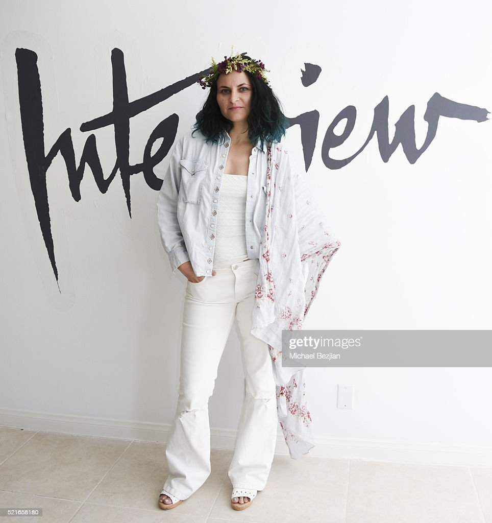 Artist and activist Rain Phoenix at Paradise House Presented By Interview on April 16, 2016 in Palm Springs, California.