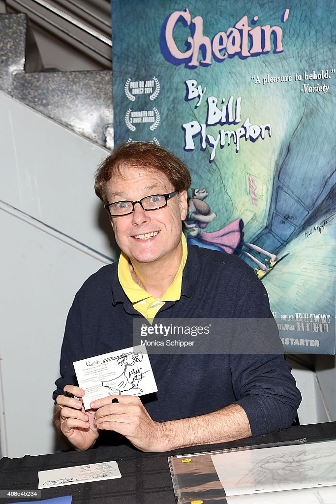 Artist and animator Bill Plympton attends the 'Cheatin' New York Premiere at Village East Cinema on April 3, 2015 in New York City.