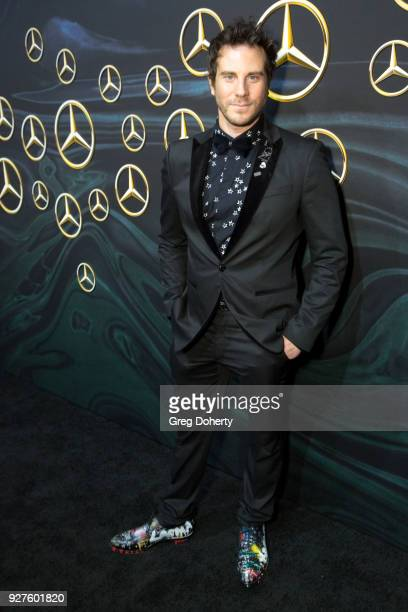 Artist and Designer Gregory Siff attends the MercedezBenz USA's Official Awards Viewing Party at Four Seasons Hotel Los Angeles at Beverly Hills on...