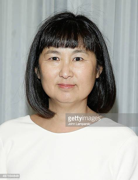 Artist and designer Maya Ying Lin attends 2015 MOCA Legacy Awards Gala at The Pierre Hotel on November 17 2015 in New York City