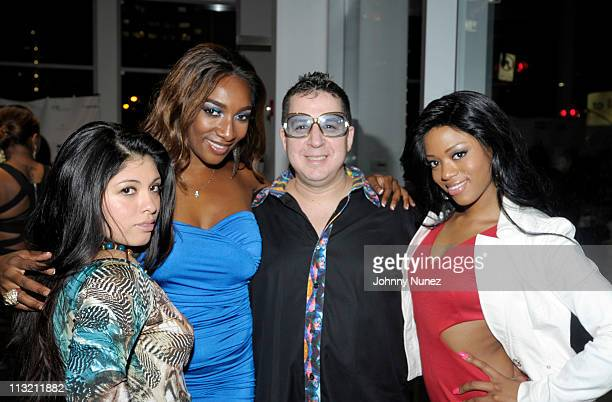Artist and designer Noah G Pop and guests attend the 2nd Annual NFL Draft Luxury Life Style Suite at Maserati Showroom on April 26 2011 in New York...