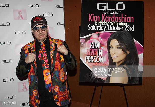 Artist and designer Noah G Pop attends Diddy's 2010 Pink Party for breast cancer at Glo Nightclub on October 14 2010 in Westbury New York
