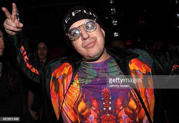 Artist and designer Noah G Pop attends DJ Clue's birthday party at M2 Ultra Lounge on January 21 2010 in New York City
