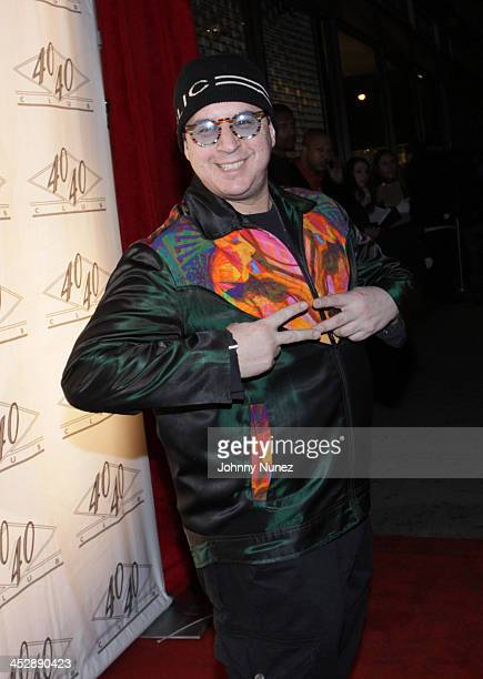 Artist and designer Noah G Pop attends JayZ's Official Madison Square Garden Concert After Party at the 40 / 40 Club on March 2 2010 in New York City