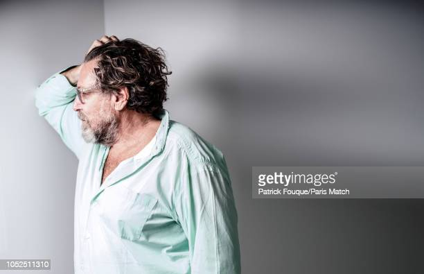 Artist and film director Julian Schnabel is photographed for Paris Match on September 28 2018 in Paris France