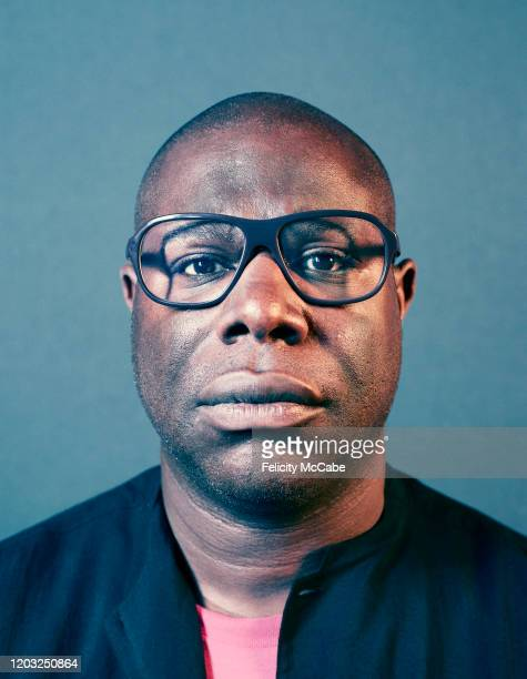 Artist and film director Steve McQueen is photographed for Esquire Big Black Book on June 27, 2018 in London, England.