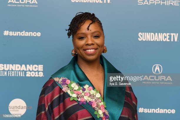 Artist and Head of Black Lives Matter Patrisse Cullors attends the Bedlam Premiere during the 2019 Sundance Film Festival at Egyptian Theatre on...