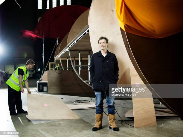Artist and poet Richard Tuttle is photographed for the Times on September 11 2014 in London England