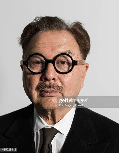 Artist and restauranteur Michael Chow is photographed on January 13 2015 in Beijing China
