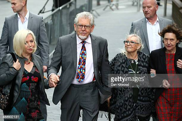 Artist and television personality Rolf Harris arrives at Southwark Crown Court on May 9 2014 in London England Mr Harris who was arrested in March...