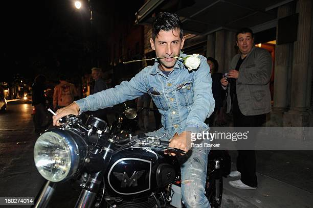 Artist Andre Saraiva attends Matchless London and AnOther magazine host intimate cocktails and dinner during New York Fashion Week at the Marlton on...