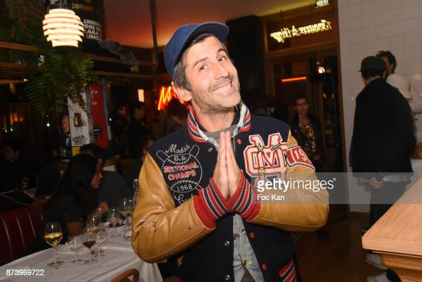 Artist Andre Saraiva attends the Dinner at 'Le Bouillon' Restaurant as part 2 of 'Les Fooding 2018' Cocktail at Les Follies Pigalle 11 Place Pigalle...