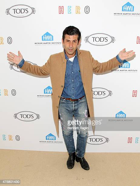 Artist Andre Saraiva attends the HetrickMartin Institute The Hero Fund Scholarship Fundraiser at The Marble House on June 3 2015 in New York City