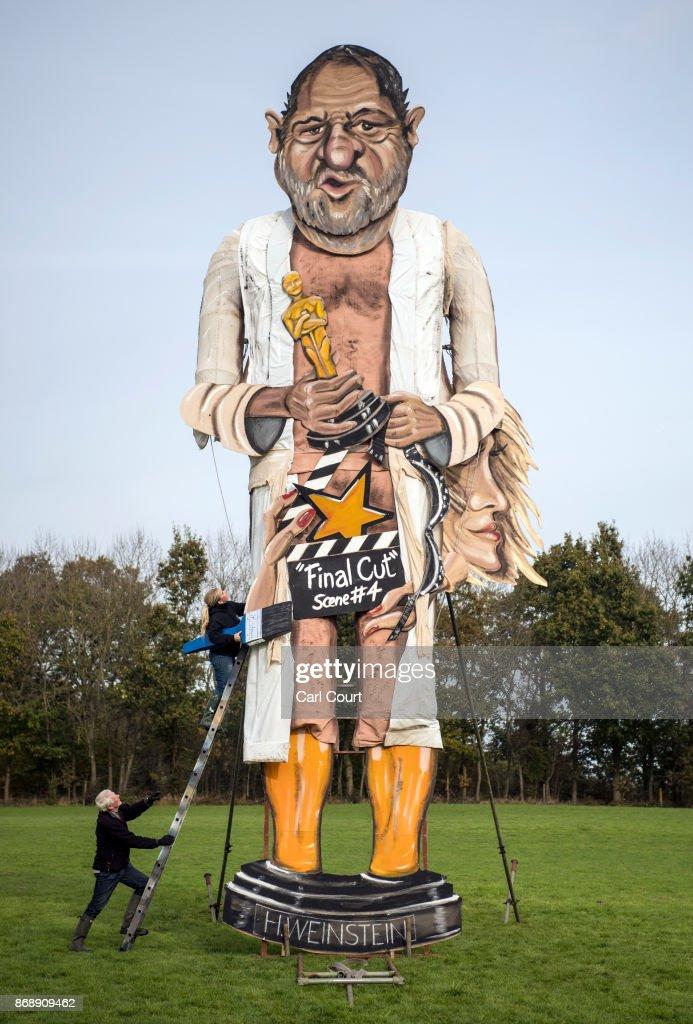 Celebrity Guy Is Unveiled For Edenbridge Bonfire Night : News Photo