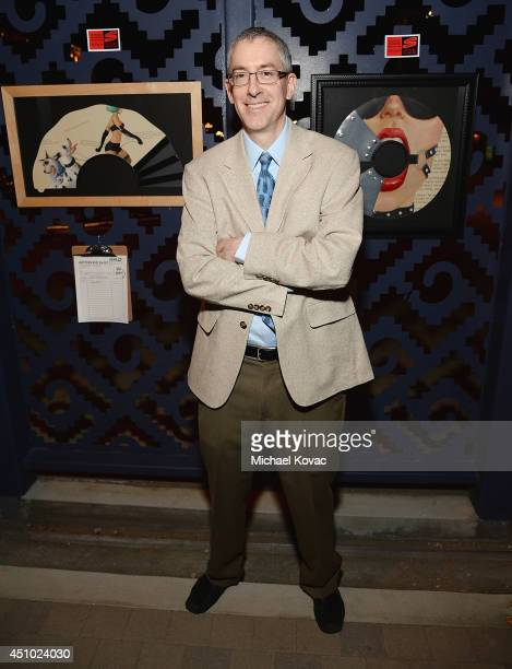 Artist Andrew S Conklin enjoys the 'More Than a Cone' art auction and campaign launch benefiting Best Friends Animal Society in Los Angeles where...