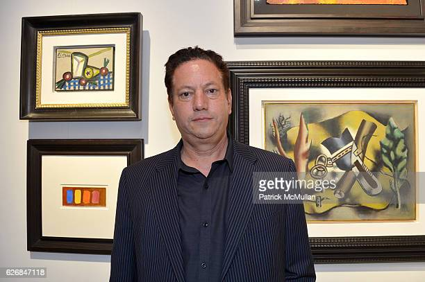 Artist Andy Moses attends The future is our only goal exhibiton at Galerie Gmurzynska at Art Basel Miami Beach 2016 at Miami Beach Convention Center...