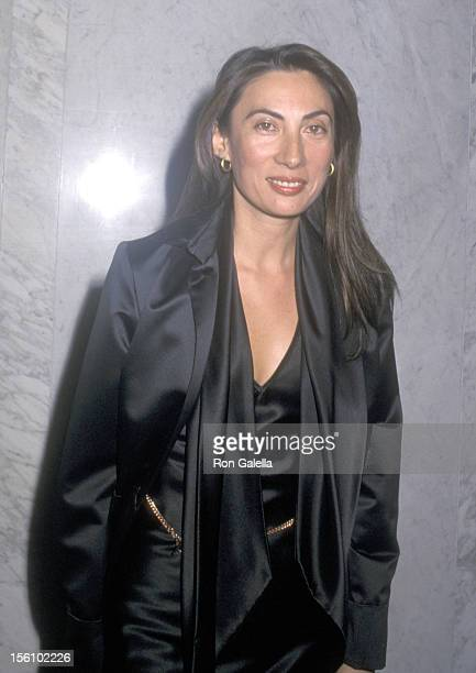 Artist Anh Duong attends the Azzedine Alaia Retrospective Exhibition on September 22 2000 at Guggenheim Museum SoHo in New York City New York