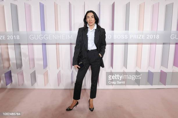 Artist Anh Duong attends the Hugo Boss Prize 2018 Artists Dinner at the Guggenheim Museum on October 18 2018 in New York City