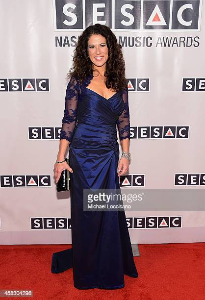 Artist Anna Wilson attends the SESAC 2014 Nashville Music Awards at Country Music Hall of Fame and Museum on November 2 2014 in Nashville Tennessee