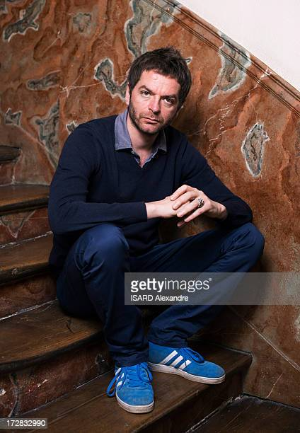 Artist Anri Sala poses during a portrait session on May 02 2013 in Paris France